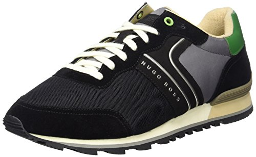 Boss Green Parkour_runn_nymx 10191435 01, Sneakers Basses Homme Noir (Black 2)