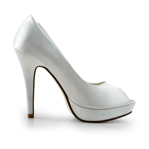 Minitoo , Semelle compensée femme Blanc - blanc