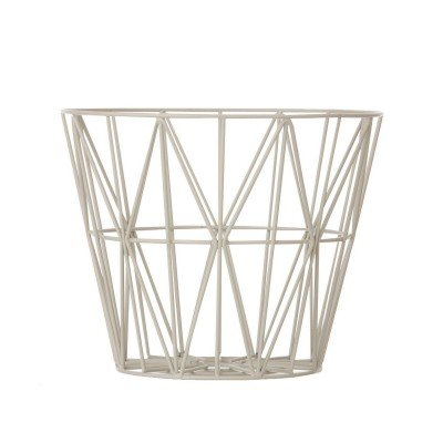 Panière Wire Basket - Small Gris