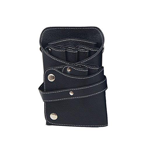 Frcolor Scissor poche Holster Baber Shear Case PU Salon cheveux Dressres taille sac