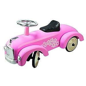 Goki-Goki-2041347-Porteur-Chariot À Tirer en Rosé Juegos de acción y reflejosJuegos de habilidadGOKICorrepasillos Rosa, (4013594141611)