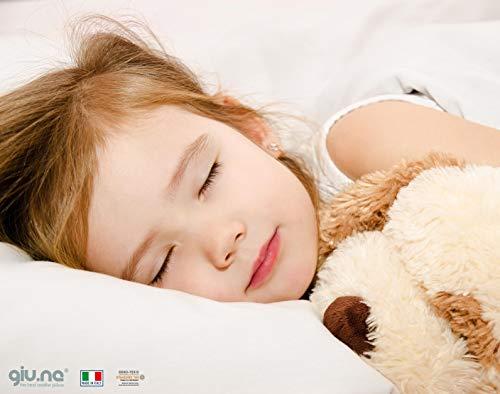 Cuscino Per Bambino Memory Foam Nuova Generazione 100{b27a6c3e6712a67b04e3612569c5cfca7e99c52e07ca027e4ff5a2771a7e4f5e} Lavabile Antisoffoco Di Sicurezza Per Culla E Lettino Ipoallergenico Colore Bianco Dimensioni 50 X 30 X 4,0 Cm
