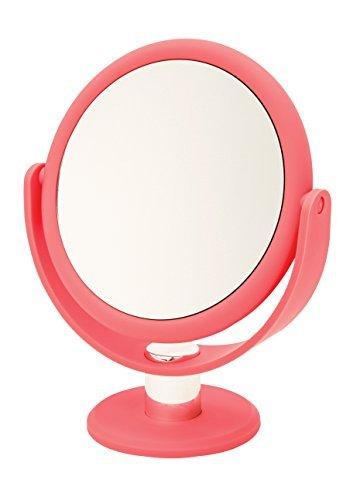 Danielle Enterprises Ultra Vue 10X Magnification Tortoise Vanity Mirror, Coral by Danielle Enterprises