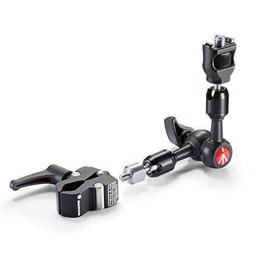 Manfrotto 244 Micro Friktionsarm Kit: & Verdrehschutz &  Nano Clamp Manfrotto Mini Clamp