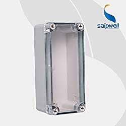 GENERIC ABS IP65 indoor/out door Light Insulation Corrosion Waterproof Clear Cover Waterproof Electrical Junction Box