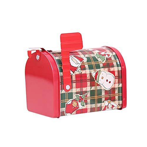 Dire-wolves Deko Geschenk Boxen Weihnachts Dekoration Weihnachtsdeko Beleuchtungsartikel Verpackung Boxen Postfachform Geschenkbox Kinder Geschenk (B)