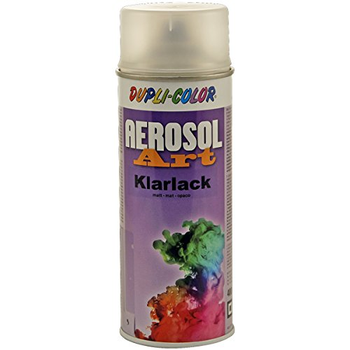 Dupli-Color 744044 Aerosol Art Klarlack 400 ml, matt