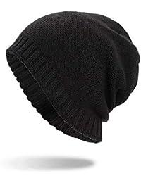 FANQIANNAN Unisex Winter Beanie Warm Baggy Tejido Crochet Skull Caps,1