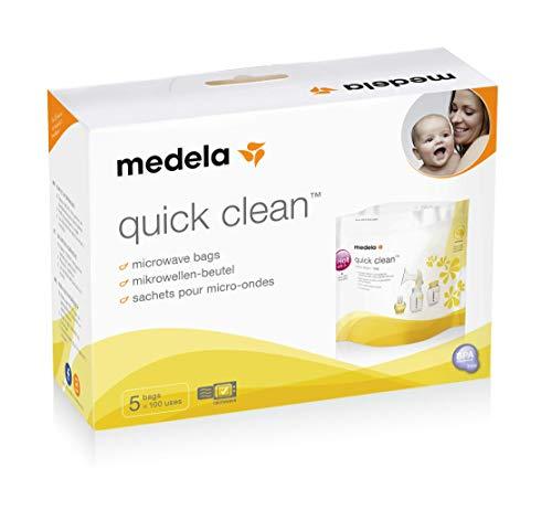 Bolsas esterilización Medela para leche materna reutilizables