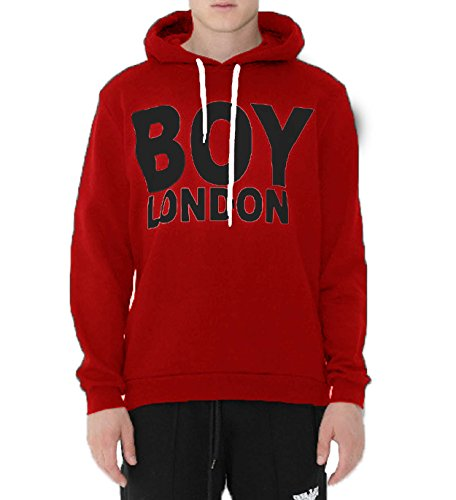 Boy London Uomo T-Shirt Jersey con Stampa BL1029 Rosso