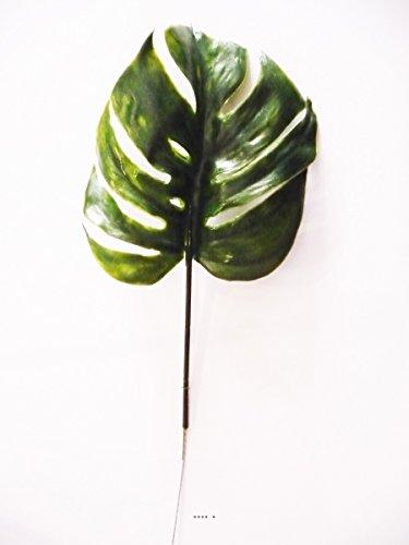 Künstliche–Blatt Philodendron X12H 39cm Kunststoff für Außen D 15cm originelle