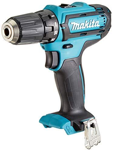 Makita DF331DZ Bohrschrauber 10,8 V (ohne Akku, ohne Ladegerät), 10.8 V, Schwarz, Blau