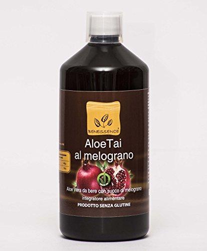 AloeTai Granatapfel Aloe Vera Saft mit Granatapfel - 1 liter (Granatapfel-saft Vera Aloe)