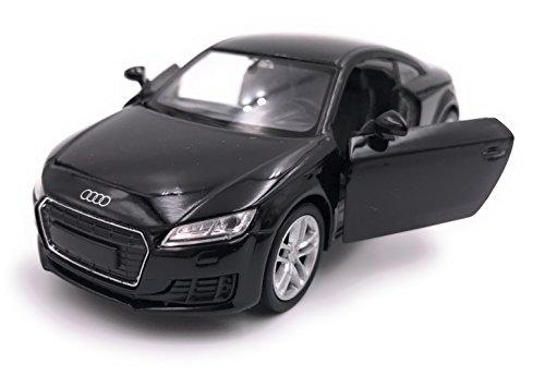 Welly Audi TT Sports Car Model Car Auto Producto con licencia 1: 34-1: 39 Negro