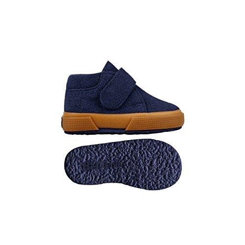 Superga S001NW0 2174-BSUJ, Chaussures montantes mixte enfant blue