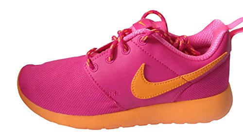Nike Roshe One (Gs), Chaussures Multisport Indoor mixte enfant rose clair citron rose 610