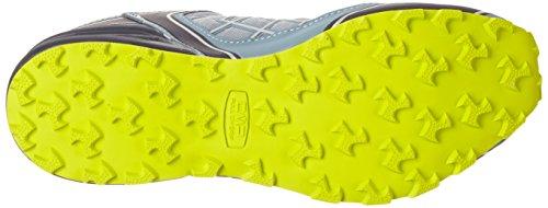 C.P.M. Super X, Chaussures de Trail Homme Gris (Acciaio-b.blue-lime)