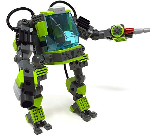 Modbrix Bausteine Mech Roboter passend für Minifiguren,182 teiliges Bausteine - Lego Avatar