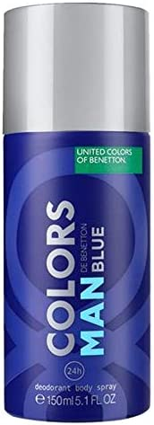 UNITED COLORS OF BENETTON Man Blue Deodorant Spray 150ml