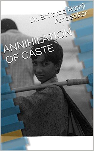 Annihilation Of Caste By Ambedkar Pdf