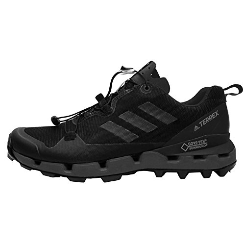 Preisvergleich Produktbild adidas outdoor Mens Terrex Fast GTX-Surround Shoe (8.5 - Black/Grey Five/Hi-Res