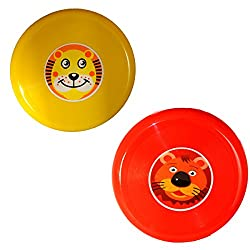 Cute Red and Yellow Frisbee Combo set