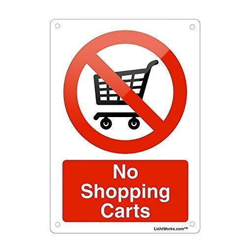 Froy No ping Carts Supermarket Mall Plaque Blech Vintage personalisierte Kunst Kreativität Dekoration Handwerk für Cafe Bar Garage Home -