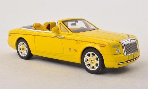 Rolls Royce Phantom Drophead Coupe Bijan Pakzad, gelb , Modellauto, Fertigmodell, IXO 1:43 - Rolls-royce Phantom Modell