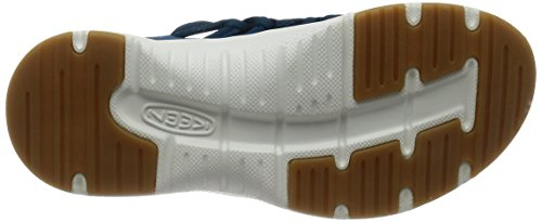 Keen Uneek O2 W, Sneakers Basses Femme Multicolore (Seaport/white)