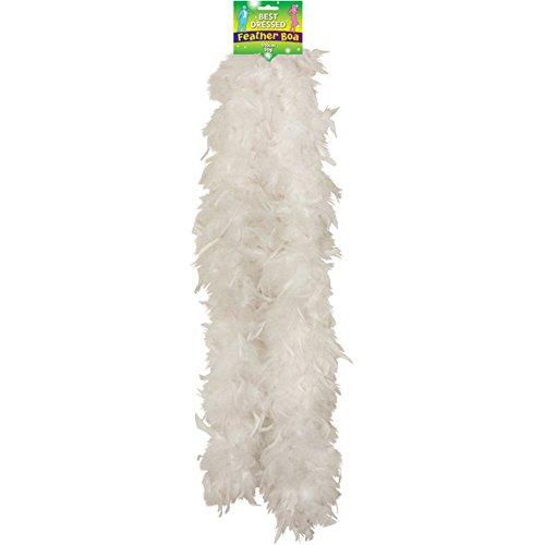 Feather Kostüm Boas - FEATHER BOA 150CM WHITE