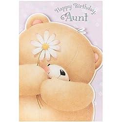 """Hallmark Geburtstagskarte für Tante""""Sie, so wunderbar–Medium"""
