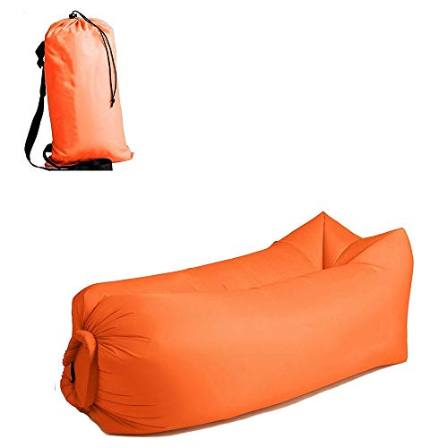 BYBAY Saco Dormir Ligero Bolso Inflable Impermeable
