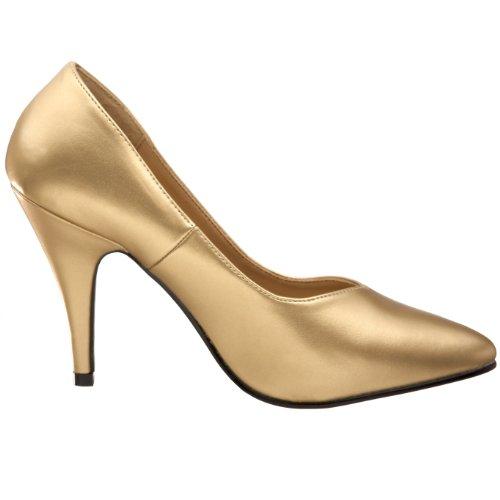 Pleaser Dream-420w Damen Plateau Gold - Gold PU