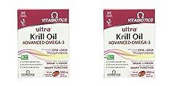 (2 Pack) - Vitabiotics Ultra Krill Oil Capsules   30s   2 Pack - Super Saver - Save Money