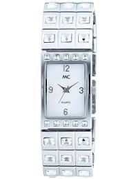 MC Timetrend Damen-Armbanduhr Analog Quarz Metallband 10660
