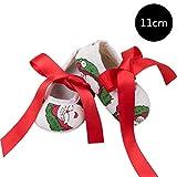 DRAULISCHE Weihnachtsfeiertags-neues modisches Kleinkind beschuht Bogen geformte Dekoration für 0-2 Jahre alte Babys