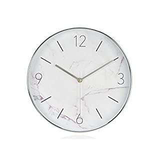 Andrea House ax16095–Uhr Effekt Marmol BL.Ø30x 4,2cm