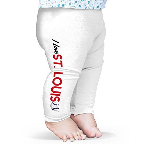 TWISTED ENVY Baby Jungen (0-24 Monate) Hose Gr. L, weiß (Jungen St Louis Cardinals-shirt)