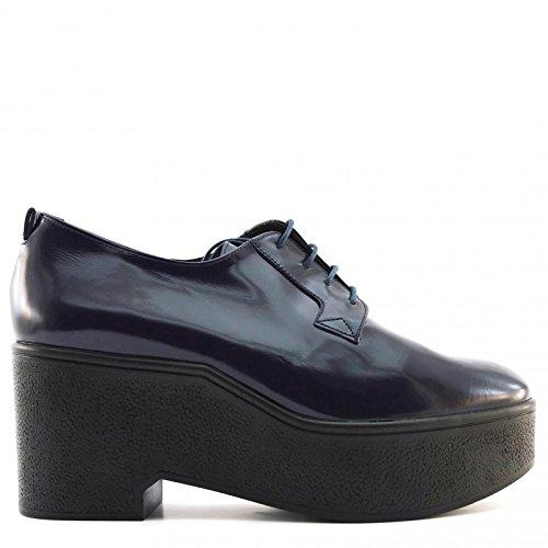 Robert Clergerie Xonca, Cheville Chaussures Lacées Femme Bleu Marine