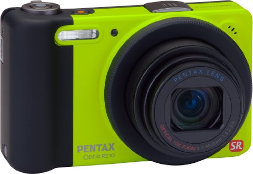Pentax Optio RZ10 Digitalkamera (14 Megapixel, 10-fach opt. Zoom, 2,7 Zoll Display, bildstabilisiert) limette Zoom, Pentax Optio