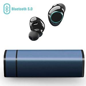 Bluetooth Ausinės, Muzili TWS in Ear Ausinės Kabellos Bluetooth Earbuds Hi-Fi Noise Concelling Stereo Ausinėss Touchscreen IP65 Sweatproof Ohrhörer mit MIC für iPhone und Android
