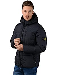 Stone Island Jacket - Mens 40223 Garment Dyed Crinkle Down Jacket In Navy