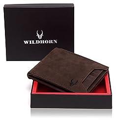 WildHorn Tan Mens Wallet