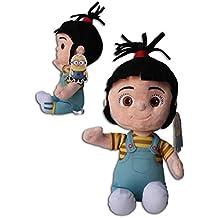 Agnes GRU Minion 30cm Muñeco Peluche Gru 2 mi villano favorito Pelicula Amarillo Gafas Super Soft