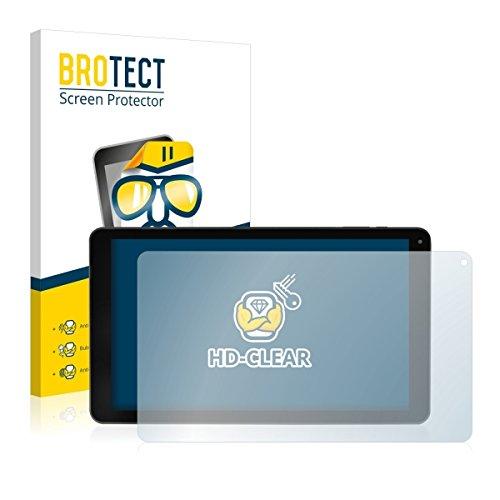 2X BROTECT HD Clear Bildschirmschutz Schutzfolie für Blaupunkt Atlantis 1001A (kristallklar, extrem Kratzfest, schmutzabweisend)