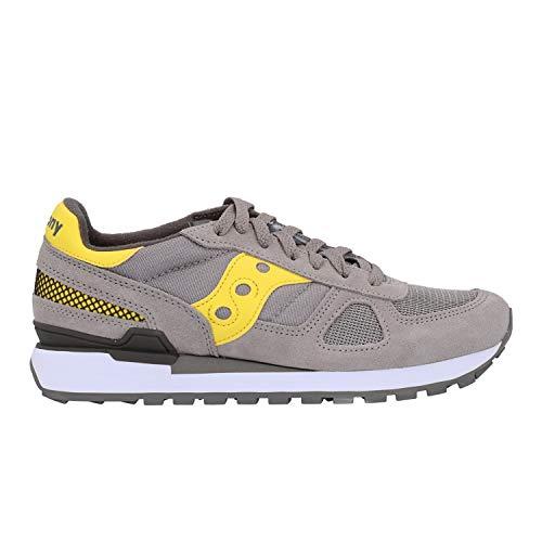 Sneaker Saucony Shadow original - 44-5 - grey-yellow