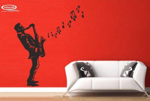 Aufkleber2009 Sticker mural, noir, ca. 47 x 95 cm (bxh)