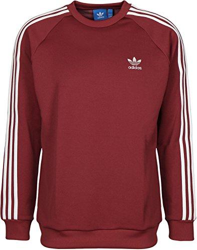 adidas Herren Sst Crew Sweatshirt Rot (ROJMIS)