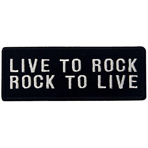 Haus Unser Kostüm Musical - Live To Rock Rock zu Leben Embroidered Iron On Nähen Auf Patch