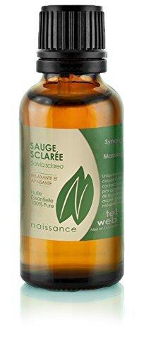 Naissance Huile Essentielle de Sauge Sclarée 100% pure - 30ml